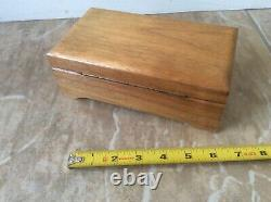 Reuge Vintage Old Music Box working condition 72 note