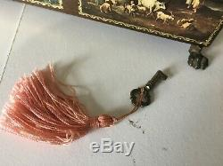 Reuge Vtg Music Jewelry Box 45034 CH 4/50 Switzerland Plays 4 Waltzes 5284 1982