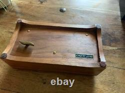 Reuge music box 3/72 solid wood swiss made in great condition