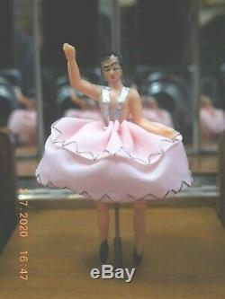 SORRENTO MUSICAL CIGARETTE BOX With DANCING BALLERINA & REUGE MOVEMENT (SEE VIDEO)