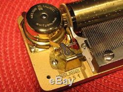 STUNNING VINTAGE REUGE MUSIC MOVEMENT 3 SONG 72 NOTE SWISS MADE With KEY WORKS