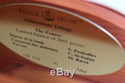 SUPERB REUGE MUSIC BOX ch. 3/72 Millenium Trilogy Ravel, Prokofiev & Saints-Saens