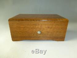 SWISS THORENS Pre Reuge Music Box 50 / 3 Play SLEEP LITTLE PRINCE & More songs