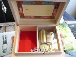 Selten! Reuge grosse Spieluhr- Spieldose Waltzer J. Brahms Swiss Made Music Box