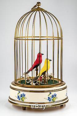 Singvogelautomat Reuge Music Sainte-Croix Spieluhr Spieldose Music Box