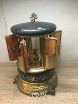 Super Rare Antique Item REUGE Cigarette Carousel Music Box Shipping from Japan