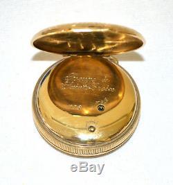 Swiss Musical Pocket Watch With Music Box Automaton Reuge