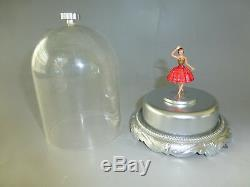 Swiss Reuge Dancing Ballerina Music Box Automaton Classic Rare Model (see Video)