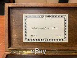 Swiss Reuge Sainte Croix Music Box The Thieving Magpie 3 part CH 3/72. 37207