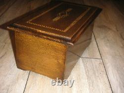 Swiss Reuge music box 6 discs Spieluhr Spieldose Kalliope Symphonion Polyphon