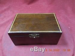Thorens (pre-reuge) Walnut Music Box With 2 Tune 50 Note Movement (see Video)