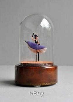 Ultra RARE Vintage Reuge French Can Can Moving Dancer Music Box
