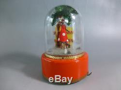 VINTAGE CIRCA 1960s SWISS REUGE DANCING BALLERINA MUSIC BOX (WATCH THE VIDEO)