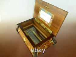 VINTAGE SWISS REUGE 72 /3 MUSIC BOX PLAYS Hungarian Rhapsody (Watch The Video)