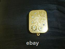 VINTAGE SWISS REUGE MINATURE MUSIC BOX MUSICAL KEY CHAIN CHARM (Watch The Video)