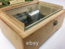 VINTAGE SWISS THORENS PRE REUGE MUSIC BOX 2 SONG Parade of Wooden Soldiers +