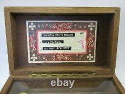 VINTAGE Swiss THORENS (Pre Reuge) MUSIC BOX 3 songs 51 keys