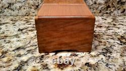 VINTAGE THORENS (PRE-REUGE) MUSIC BOX SWISS SHIELD INLAY 3 TUNE 50 NOTE No28