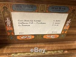 VIntage REUGE SAINTE-CROIX Music Box CH 3/72 37217