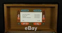 Vinatge Reuge Saint-croix String Inlaid Music Box