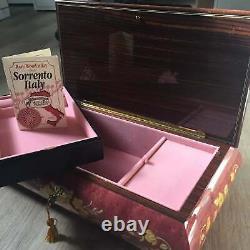 Vintage 36-note Sorrento Inlay Music Box