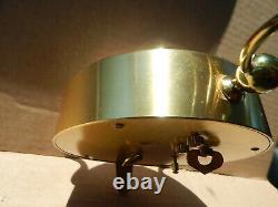 Vintage Bulova-7 Jewels Alarm Clock With Built-in Swiss Reuge Music Box- 1960