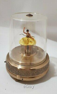 Vintage CODY Pre Reuge Dancing Ballerina Music Box'The Blue Danube