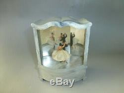 Vintage Cody (pre Reuge) Dancing Ballerina Automaton Music Box (see The Video)