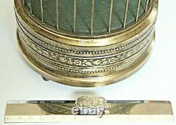 Vintage German Karl Griesbaum Singing Bird Cage Music Box 1960