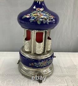 Vintage Italy REUGE Swiss Movement Lipstick Cigarette Holder Music Box