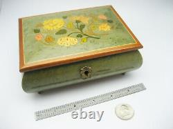 Vintage Italy REUGE Swiss Musical Music Box Love is A Many Splendored Thing