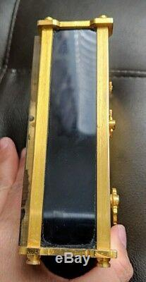 Vintage Jaeger LeCoultre Reuge Asian Clock Alarm Music Box Swiss #2173