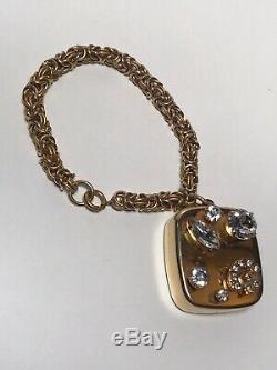 Vintage Miniature Music Box on Bracelet SWISS MADE