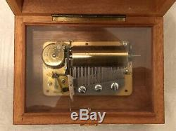 Vintage Music Box Reuge Sainte Croix Switzerland