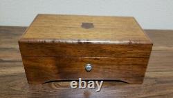 Vintage (Pre Reuge)Thorens 3/50 Music Box, Plays Very Well (see video)