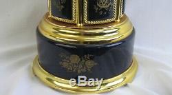 Vintage REUGE Carousel Swiss Music Box Cigarette/ Lip stick Holder