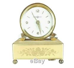 Vintage REUGE Clock MUSIC BOX Alarm OH WHAT A BEAUTIFUL MORNING