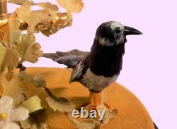 Vintage REUGE Double Singing Bird Cage Automaton Music Box (Video Inc.)