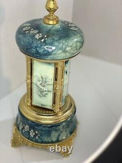 Vintage REUGE Music Box and Cigarette Lipstick Holder Carousel Made in Italy
