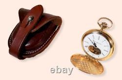 Vintage REUGE Musical Pocket Watch Music Box (Video Inc.)