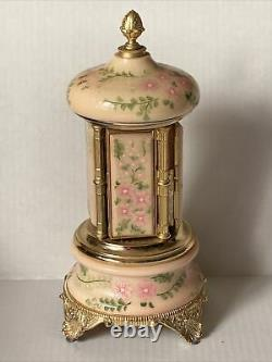 Vintage REUGE S. F. Music Box Tara's Theme Lipstick Carousel Made In Italy
