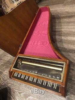 Vintage Rare REUGE 24 Piano Music Box 144 Notes, 144/3 Mozart