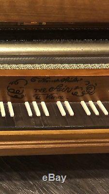 Vintage Rare REUGE 24 Piano Music Box 144 Notes, 144/3 Mozart