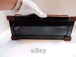 Vintage Reuge 144 Note Music Box Beethoven Symphonies (watch Video)