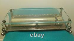 Vintage Reuge 3 Song 144 Note Dauphine Music Box, Chopin