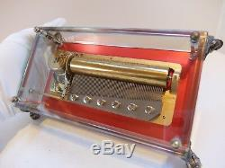 Vintage Reuge 3 Song 72 Note Music Box Romeo & Juliet(watch The Video)