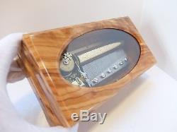 Vintage Reuge 3 Song 72 Note Nutcracker Suite Music Box (video)