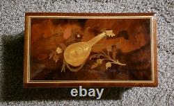 Vintage Reuge 72 Note Music Box-Plays Hungarian Rhapsody by Liszt(see video)