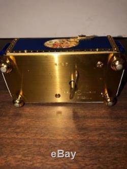 Vintage Reuge Automaton Music Box Singing Bird