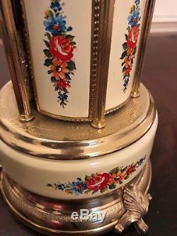 Vintage Reuge Cigarette or Lipstick Music Carousel Dr Zhivago Music WORKS